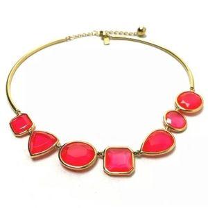 NWT Cabaret Pink Vegas Jewels Collar Necklace